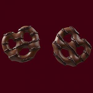 Σνακ Πρέτζελ Σοκολάτα Hersheys Dipped Pretzels 120g