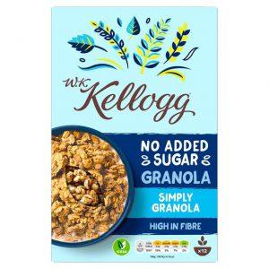 Δημητριακά Kelloggs WK Granola No Added Sugar Simply Granola 570g