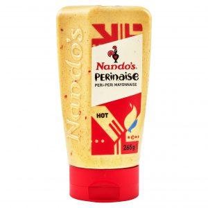 Μαγιονέζα Καυτερή Nandos Perinaise Peri Peri Mayonnaise Hot 265g