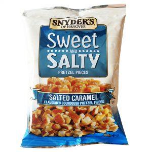 Σνακ Κομματάκια Πρέτζελ Αλμυρή Καραμέλα Snyders of Hanover Sweet and Salty Pretzel Pieces Salted Caramel 100g
