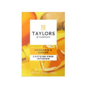 Αφέψημα Μανταρίνι Με Γλυκό Κίτρο Και Τζίντζερ Taylors Of Harrogate Mandarin And Ginger Infusion 20 Wrapped Tea Bags 50g