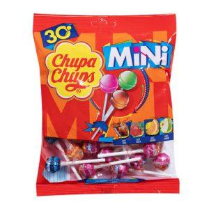 Γλειφιτζούρια Μικρά Σε Διάφορες Γεύσεις Chupa Chups Mini Lollipops 30 Pieces 180g