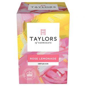 Αφέψημα Τριαντάφυλλο Κίτρο Και Λεμόνι Taylors Of Harrogate Rose Lemonade Infusion 20 Wrapped Tea Bags 50g