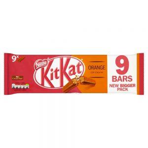 Γκοφρέτα Πορτοκάλι Kit Kat Orange Vegetarian 9 Bars 186,3g