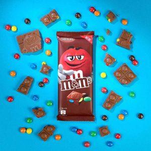 Σοκολάτα Γάλακτος Με Κουφετάκια Mars MandMs Milk Chocolate Bar With Mini MandMs 165g