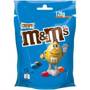 Κουφετάκια με Γέμιση Τραγανού Ρυζιού Mars MandMs Crispy 128g