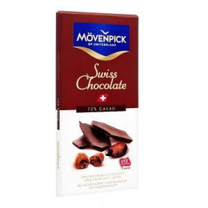 Σοκολάτα Ελβετική Movenpick Swiss Chocolate Bittersweet Finest Cocoa 70g