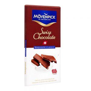 Σοκολάτα Γάλακτος Ελβετική Movenpick Swiss Milk Chocolate Exquisite Classic 70g