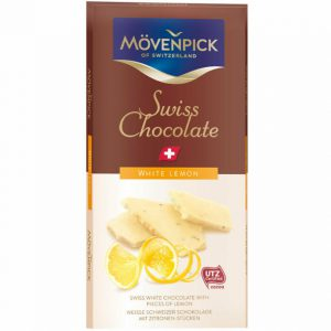 Σοκολάτα Λευκή Ελβετική Movenpick Swiss Chocolate White Lemon 70g