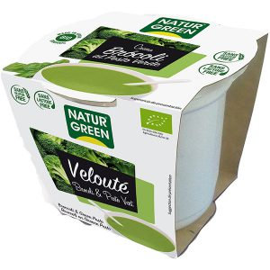 Σούπα Έτοιμη Βελουτέ Με Μπρόκολο Και Πέστο Βιολογικό Naturgreen Veloute Brocoli And Pesto Vert 310g