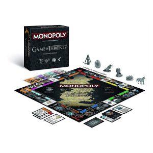 Επιτραπέζιο Monopoly Game of Thrones Collectors Edition Winning Moves (Στα Αγγλικά) AB96875
